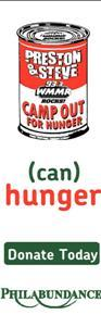 WMMR- Preston & Steve Camp Out For Hunger